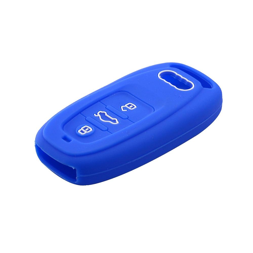 Car key case for audi a5 a6 a8 key cover (5)