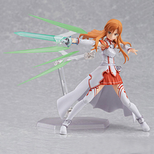 Peripheral Products Sword Art Online #178 Asuna Nendoroid Anime Figure PVC Collection Kids Toy 15cm