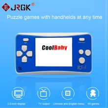 Cool Child classic game machine 2.5 inch LCD 76 Games Inside Portable Handheld Video Game Player Console 8bit NES Games RS-1