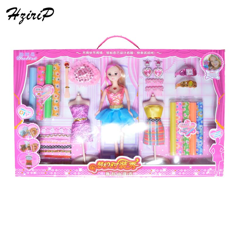 DIY Fashion Doll Toys Gift Box Sets Cute Beautiful Doll Accessories High Quality Children Girls Birthday Gifts Free Shipping<br><br>Aliexpress