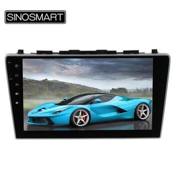 SINOSMART 10.2 ''Quad Core 1.6 GHz RAM 1G Android 4.4 Voiture Navigation GPS Lecteur pour Honda CRV 2006-2011 sans Canbus