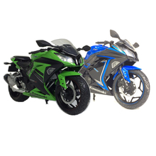 1:12 Kawasaki Little Ninja Simulation Of Static Motorcycle Model The Best Gift(China)