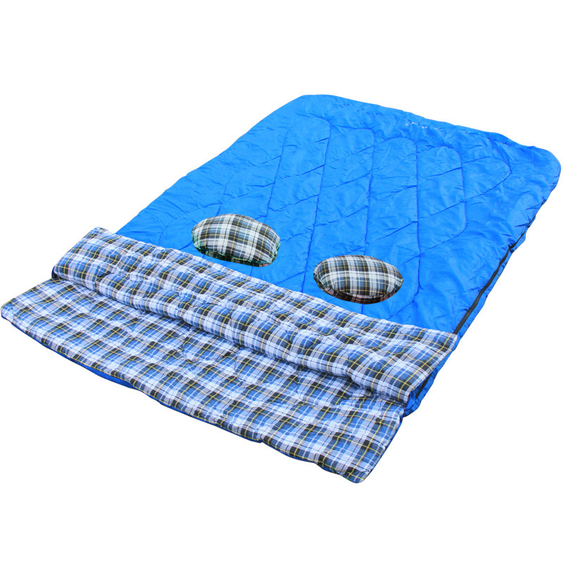 sleeping-bag-Double-envelope-outdoor-travel-camping-longer-family-large-duet-sleeping-bag-couples-2-person (3)