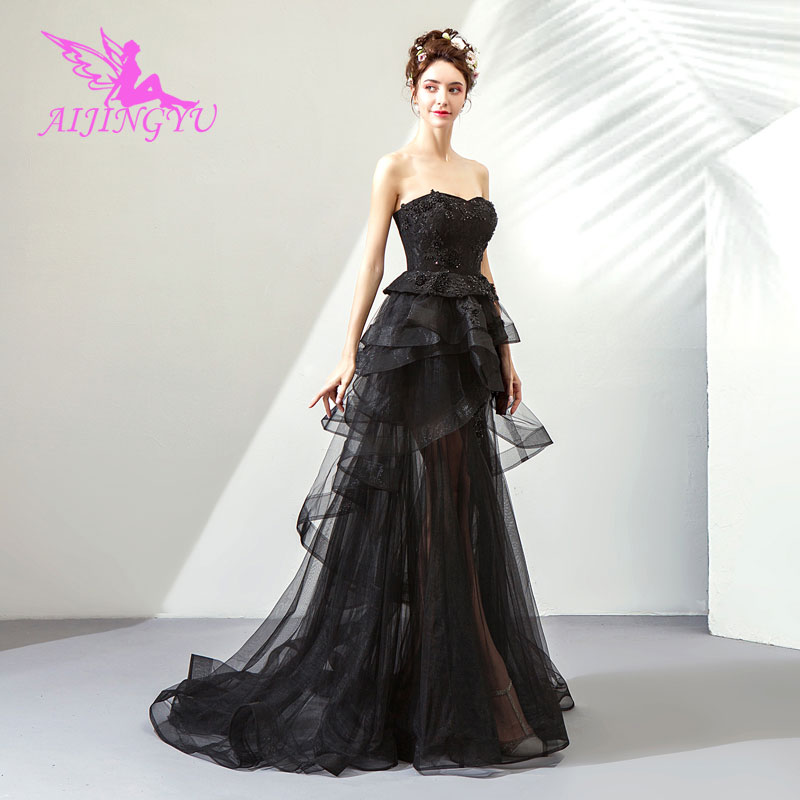 AIJINGYU 2018 sexy free shipping new hot selling cheap ball gown lace up back formal bride dresses wedding dress TJ580