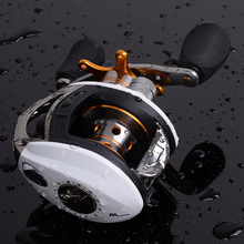 SHUNMIER Multi 10+1BB baitcasting reel Gear ratio 6.3:1 all-metal holder Dual Brake System fishing reel wheels pesca(China)