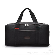 VKTERY Fashion brand Men Travel Bags Large Capacity 36-55L Women Luggage Duffle Bags Canvas Folding Bag For Trip Waterproof D40(China)