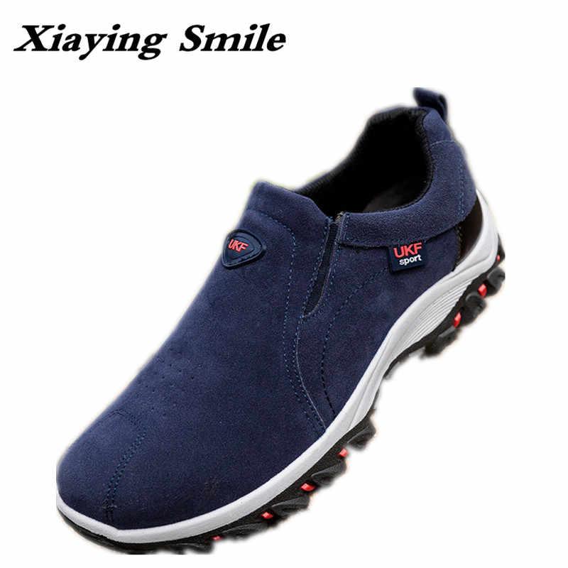 32d5b5558 Недорогая мужская летняя модная обувь с дырочками, весенне-осенняя  эластичная Уличная Повседневная обувь,