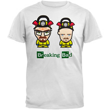 GILDAN Short Sleeve Cotton T Shirts Man Clothing Breaking Bad - Mens Hazmat Suit Avatars T-shirt