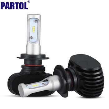 S1 Partol 50 W 8000LM H7 H11 9005 9006 CSP LED Phare De Voiture ampoules CREE Puces Auto Phare pour Ford Toyota Honda Hyundai VW 12 V