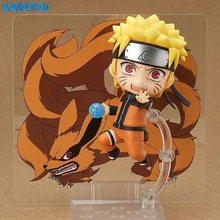 SAINTGI Naruto nendoroid Action Figure Anime PVC 10CM Model kids toys Collection - Sherls store