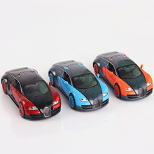 1:32 Bugatti Veyron Coches Car Model Autos Escala Pull Back Toys Gifts For Kids