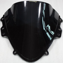 Motorcycle ABS Plastics Black WindScreen Windshield Deflector For Suzuki GSXR600 GSXR750 GSXR 600 GSXR 750 K4 2004-2005 04 05(China)