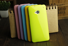 High Quality Silicone Case For HTC One M7 801E 801S,Shiny Jelly Silicone Back Cover Case For HTC One M7