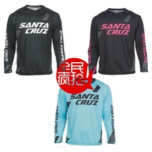 The Latest Sant Cruz Jersey Long Sleeve Shirt Mountain Bike Bicycle Clothing for Men and Women