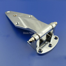 free shipping  Cold storage hinge oven hinge industrial part Refrigerated truck car door hinge zinc alloy  hardware