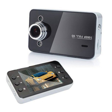 2.4'' Car DVR Camera Video Recorder Dash Cam G-sensor New infrared LED night Vision HD K6000 Driving video recorder TF