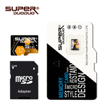 superduoduo micro sd card 8GB usb flash pen drive 16GB 32GB 64GB 128GB Memory Card Microsd SD card for Smartphone gift adapter(China)