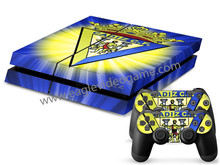 For ps4 skin sticker Spanish football team Cadiz CF  high quality controller decal