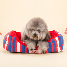 Small Puppy Houses Breathable Bed Cartoon Sofa Nest Swing Pet Blanket Dog Tray Honden Mand Supplies Cats Animal Product 60Z1171