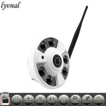 Fisheye ip camera wifi IP Camera Audio Full View Wide Angle 180 Degree 1080P SONY IMX323 IP Camera  P2P Onvif Security camera