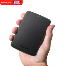 "Toshiba HDD Canvio Basics USB 3.0 2.5"" Inch 1TB 8MB Portable External Hard Disk Drive Mobile HDD HDTB310YK3AA For Laptop Desktop"