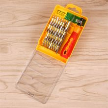 1PC Multi-functional Electron Magnetic Precision Mobile Repair Tools 32 In 1 Set Star Screwdriver Kit Tweezer Home Improvement