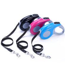 Holapet Automatic Retractable Dog Leash Durable Nylon Dog Lead Extending Puppy Walking Running Leads - 3 M/5 M