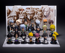 4.5cm-5.5cm Q version 21pcs/lot Japanese Anime figure Naruto action figure set Toys for collection kids toys for boy