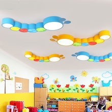 Children's room led ceiling lamp modern boy girl bedroom creative cartoon nursery school ceiling lamps ZA8830