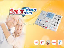 Free shipping Elderly GSM Personal emergency call Healthcare alarm/GSM Module for senior living care T2 kit