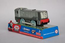 DENNIS train, Electric Thomas And Friend Trackmaster Engine Motorized Train - Henry & Truck , Plastic Toy Train