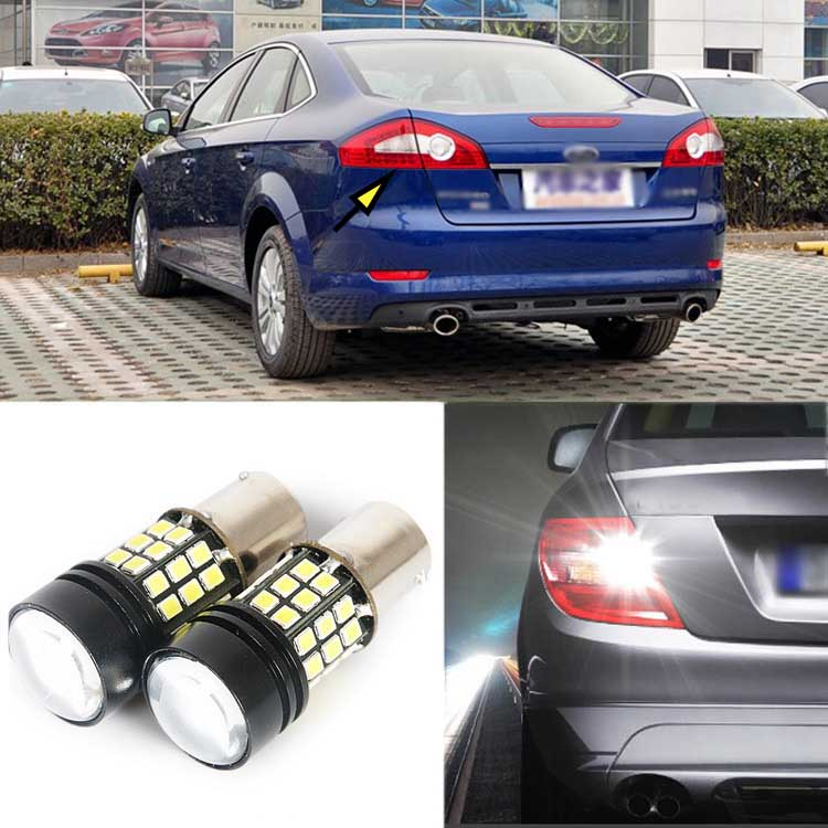 2pcs Brand New High Quality Superb Error Free 5050 SMD 360 Degrees LED Backup Reverse light Bulbs 1156 For Ford Mondeo 07-2010<br><br>Aliexpress