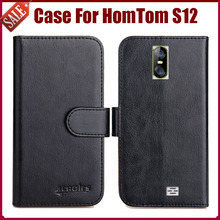 Buy Hot Sale! HomTom S12 Case New Arrival 6 Colors High Flip Leather Protective Cover HomTom S12 Case Phone Bag for $5.82 in AliExpress store