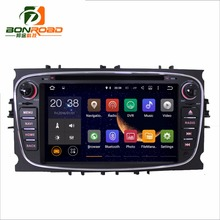 Bonroad Android 5.1 2din Car Video DVD Player For Focus 2008  2009 2010 2011 Radio Rds GPS Navigation bluetooth Screen Wifi