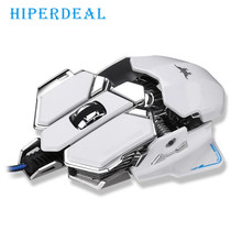 2017 English User Manual 4800DPI Optical USB Wired Gaming Mouse Mice For Windows Mac OS PC Sep 5(China)