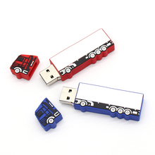 hot sale big truck usb flash drive new arrival Big truck pen drive usb stick 16g 8g 4g 2g 2016 cute Deer flash memory stick