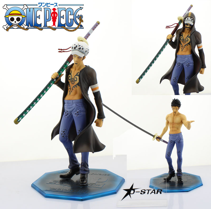 Free Shipping Cool 9 One Piece P.O.P POP The Surgeon of Death - Trafalgar Law Dressrosa Ver. PVC Action Figure Model Toy Gift<br><br>Aliexpress