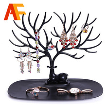 Vogue Jewelry Necklace Earring Deer Stand Display Organizer Holder Show Rack A display Necklace Organizer Jewellery Holder