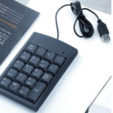 Numeric Number Pad Keypad Keyboard For Laptop PC Notebook Computer USB Mini 19 Keys Num
