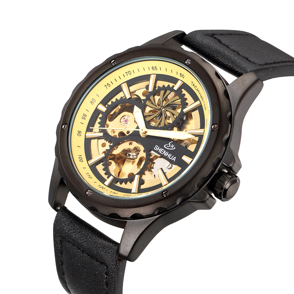 Antique 2017 New Mens Watch Luxury Brand Automatic Mechanical Vintage Bronze Watch Sport Military Style Male Army Clock<br><br>Aliexpress