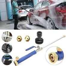 2017 High Pressure Hose Nozzle Car Washer Garden Watering Spray Nozzle Water Spray Gun Water Power Jet Hose Wand Cleaning Tool