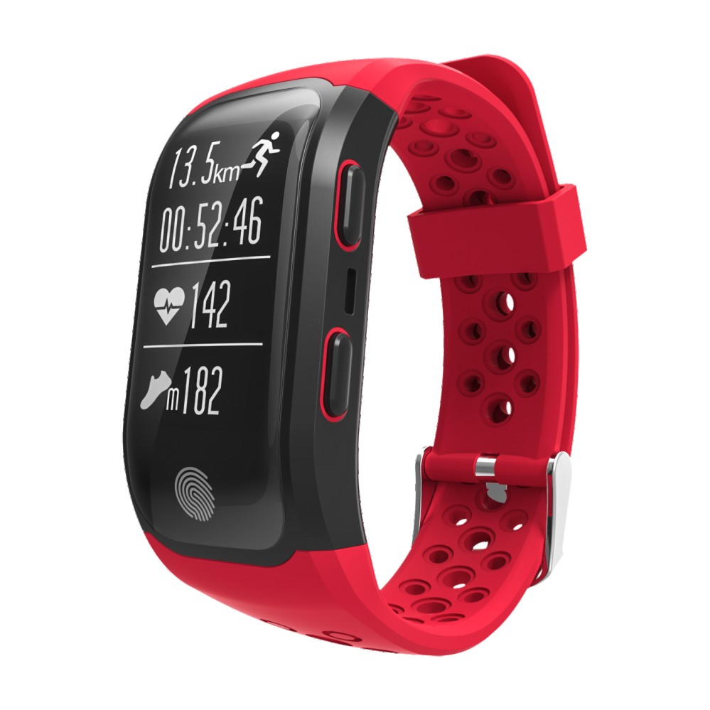 LEMDIOE Heart Rate Smart Wristband GPS Track Record Smart Band 2 Sleep Pedometer Bracelet Fitness Tracker Smart Watch Relogio 16