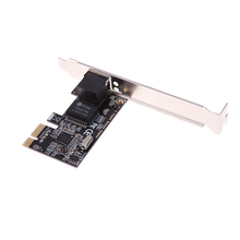RTL8111E PCIe Gigabit Ethernet PCI-Express Internal RJ45 Server Network Card Adapter Compatible PCI-E X1/X4/X8/X16 for Desktop(China)