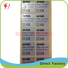 Direct Manufacture Customized Waterproof And Sunscreen Solar Panel Sticker