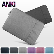 Laptop Sleeve 11 12 13 15 Inch Nylon Men Laptop Bag For Macbook Air Pro 13 Fluffy Casual Women Case Cover Computer Notebook Bag