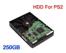 "250GB 3.5"" IDE Internal Hard Drive for PS2 with 57 games installed USED HDD one year warranty(China)"