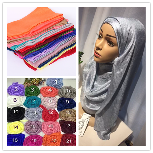 (12 pieces/lot) 2017 popular design Soft linen silk plain shawls muslim hijab spring big size wrap scarves/scarf GYW29