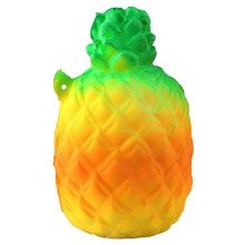 Kid Toys Super Slow Rising Squishy Pineapple Release Stretch Gift Charm Cream Scented Bread Cake Scented Fruit Phone Strap Decor