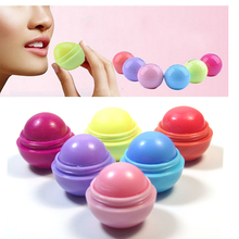 Lip Gross Enhancer 6 color Natural Plant Organic Sphere Pomade Coc Cola Ball Lipstick Embellish Lip Balm,Chapstick(China)