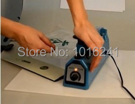 New Hand Sealing Machine Impulse Heat Manual Seal Machine Plastic Poly Bag Sealer Sealing Length 30cm  11.8inch<br><br>Aliexpress